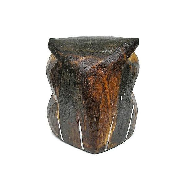 フクロウ ライトブラウン Sサイズ[H.7cm] ふくろう 梟 アジアン雑貨 バリ タイ エスニック アニマル 装飾 |angkasa|04