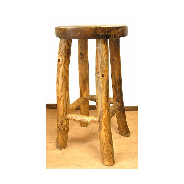 アジアン家具 アジアン雑貨 天然木 チークの椅子 イス スツール Lサイズ H.約60cm イス|angkasa|02