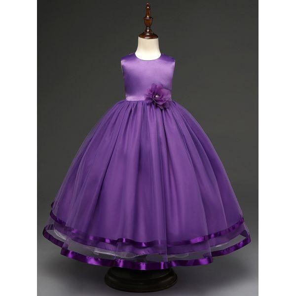 2a85135907dcb ... 限定SALE !子供ドレス ピアノ発表会 8色 結婚式 フォーマル ドレス 子ども キッズ