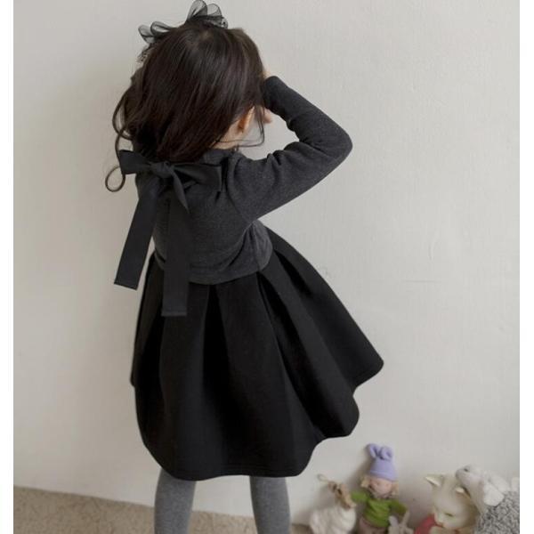 9c447a930cc7f ... 年末セール子ども ワンピース 長袖 韓国子供服 子供ドレス 女の子 ピアノ 発表会 合唱団 ...