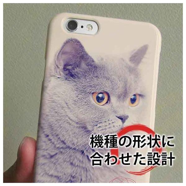 スマホケース ハード ブリテッシュショートヘア かわいい ネコ 子猫 ねこ iPhone11 Pro Max iPhoneXs Max iPhone8 Plus Xperia Galaxy AQUOS arrows|anglers-case|03