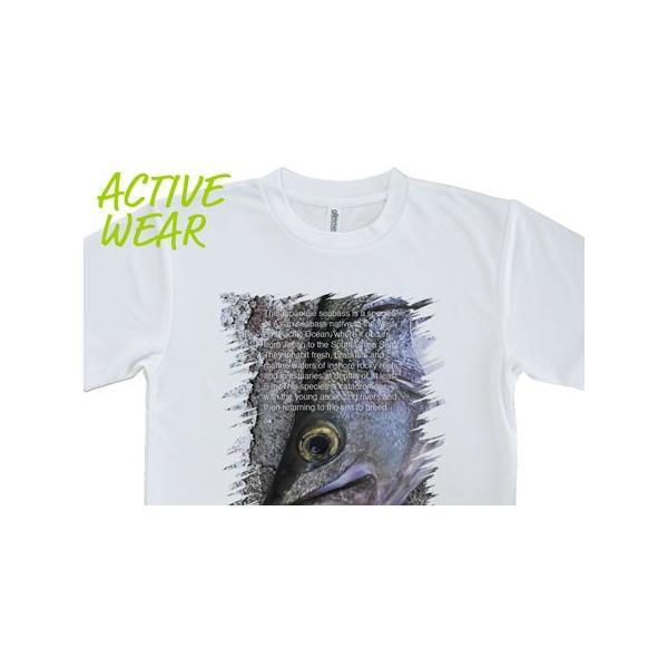 Tシャツ 鎧武者スズキ(シーバス) 釣り 魚 ルアー 送料無料 メンズ ロゴ 文字 春 夏 秋 インナー 安い  面白い 大きいサイズ 洗濯|anglers-case|05