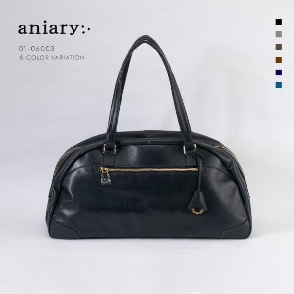 アニアリ・aniary ボストンバッグ【送料無料】Antique Leather 牛革  Boston Bag 01-06003|aniary-shop