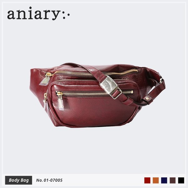 【aniary|アニアリ】Antique Leather アンティークレザー 牛革 Body Bag ボディバッグ 01-07005 [送料無料]|aniary-shop