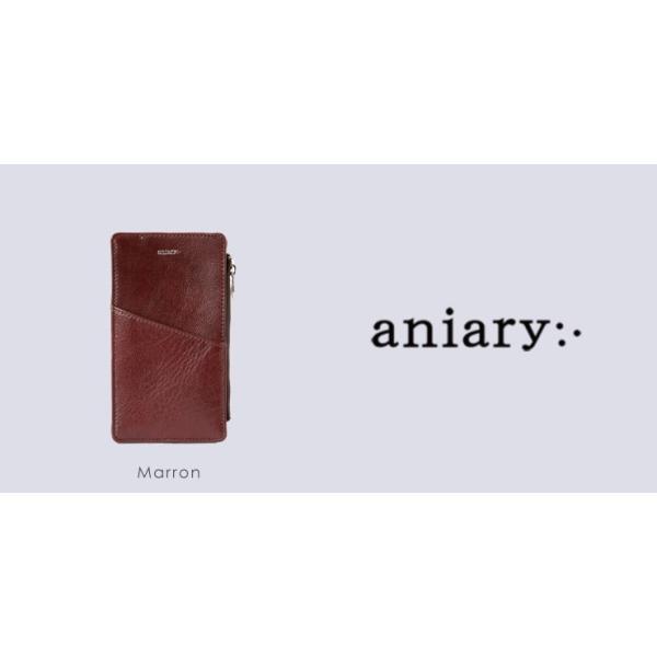 アニアリ・aniary クラッチバッグ【送料無料】アンティークレザー Antique Leather(牛革) ClutchBag マルチケース 01-08002 aniary-shop 03