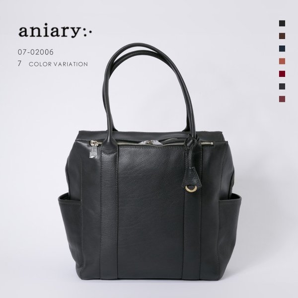 アニアリ・aniary トート バッグ【送料無料】シュリンクレザー tote 07-02006|aniary-shop