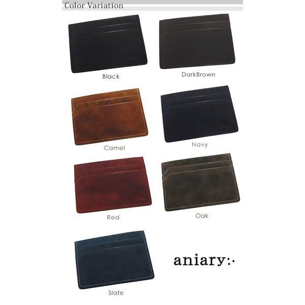 アニアリ・aniary パスケース<br>アイディアルレザー passCase 11-20009|aniary-shop|02