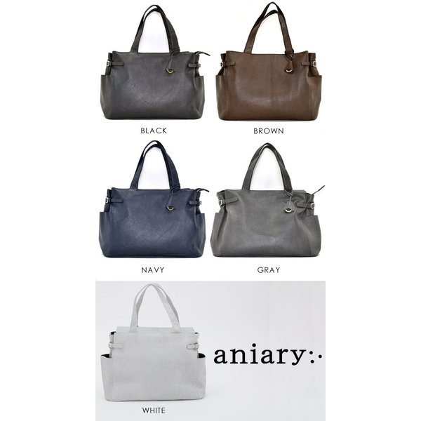 アニアリ・aniary トートバッグ【送料無料】 Grind Leather 牛革 Tote bag 15-02002|aniary-shop|02