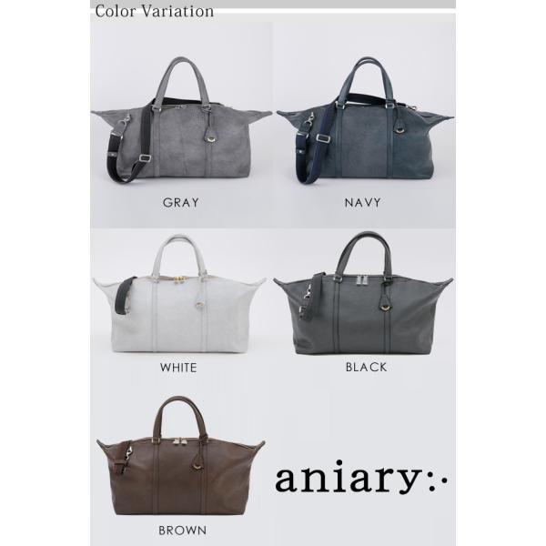 アニアリ・aniary ボストン バッグ【送料無料】グラインドレザー Boston Bag 15-06000 aniary-shop 02