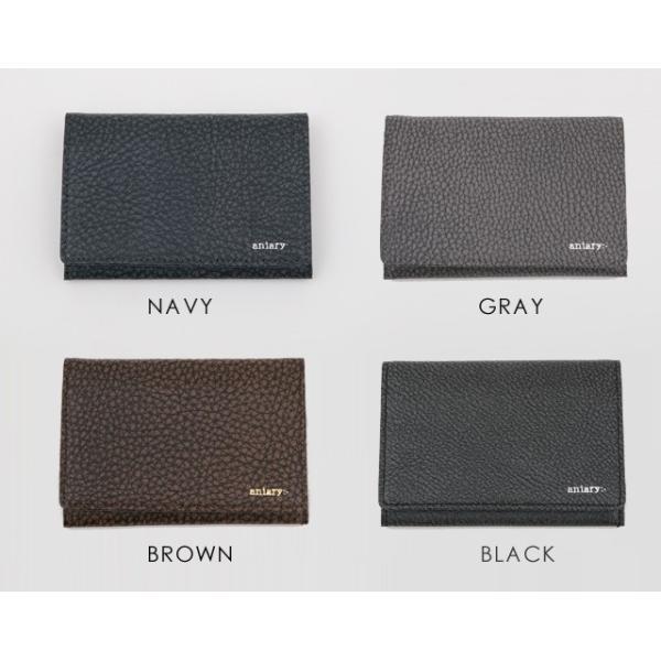 アニアリ・aniary 名刺入れ【送料無料】Grind Leather牛革 Card Case 15-20004|aniary-shop|02