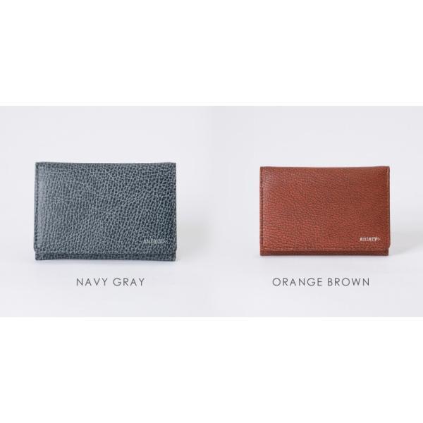 アニアリ・aniary 名刺入れ【送料無料】Grind Leather牛革 Card Case 15-20004|aniary-shop|04