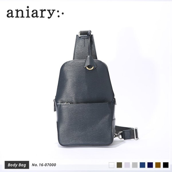 【aniary|アニアリ】Wave Leather ウェーブレザー 牛革 Body Bag ボディバッグ 16-07000 [送料無料]|aniary-shop