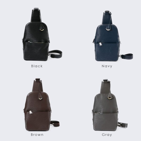 【aniary|アニアリ】Wave Leather ウェーブレザー 牛革 Body Bag ボディバッグ 16-07000 [送料無料]|aniary-shop|02