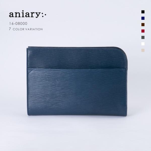 アニアリ・aniary/  クラッチバッグ[送料無料]Wave Leather(牛革) Clutchbag 16-08000|aniary-shop