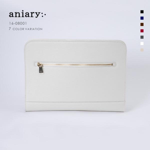 アニアリ・aniary クラッチバッグ【送料無料】Wave Leather 牛革 Crutch Bag 16-08001|aniary-shop