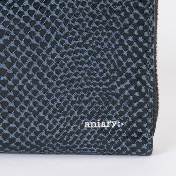 アニアリ・aniary 財布【送料無料】<br>Scale Leather 牛革 Wallet 18-20003|aniary-shop|04