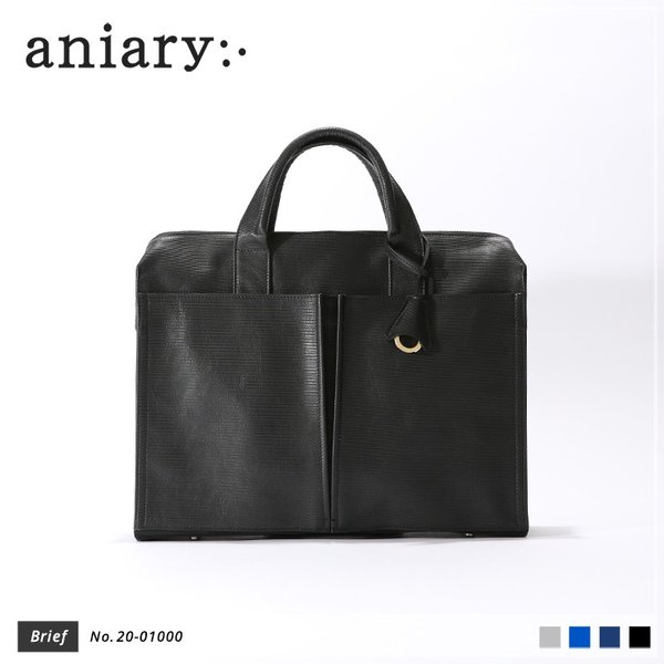 【aniary|アニアリ】Refine Leather リファインレザー 牛革 Brief ブリーフケース 20-01000 [送料無料]|aniary-shop