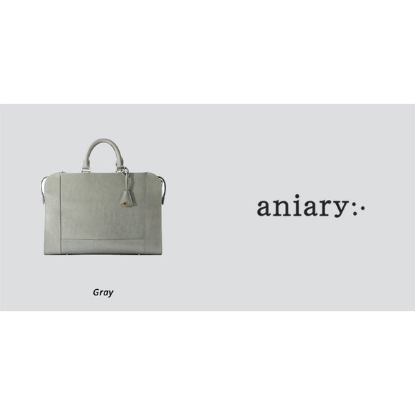 【aniary|アニアリ】Inheritance Leather インヘリタンスレザー 牛革 Brief ブリーフケース 21-01001 [送料無料]|aniary-shop|03