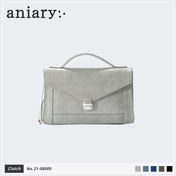 【aniary アニアリ】Inheritance Leather インヘリタンスレザー 牛革 Clutch クラッチバッグ 21-08000 [送料無料] aniary-shop
