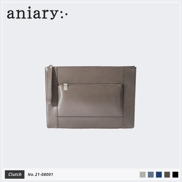 【aniary|アニアリ】Inheritance Leather インヘリタンスレザー 牛革 Clutch クラッチバッグ 21-08001 [送料無料]|aniary-shop