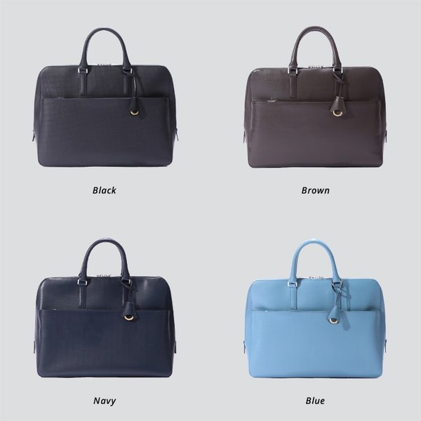 【aniary アニアリ】Grid Leather グリッドレザー 牛革 Brief ブリーフケース 25-01000 [送料無料] aniary-shop 02