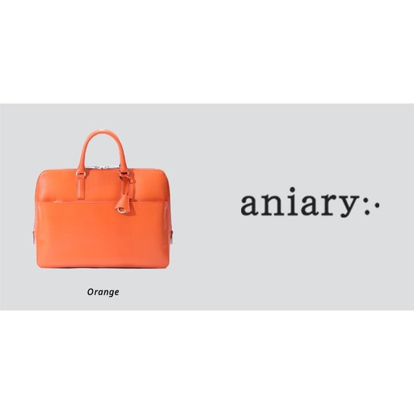 【aniary アニアリ】Grid Leather グリッドレザー 牛革 Brief ブリーフケース 25-01000 [送料無料] aniary-shop 03