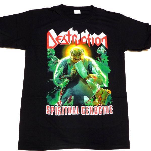 【メール便対応可】DESTRUCTION デストラクション  SPIRITUAL GENOCIDE  オフィシャル バンドTシャツ|animal-rock