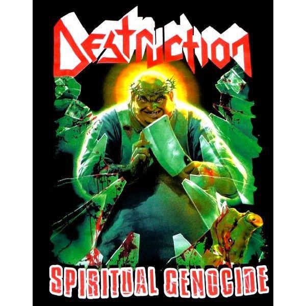 【メール便対応可】DESTRUCTION デストラクション  SPIRITUAL GENOCIDE  オフィシャル バンドTシャツ|animal-rock|02