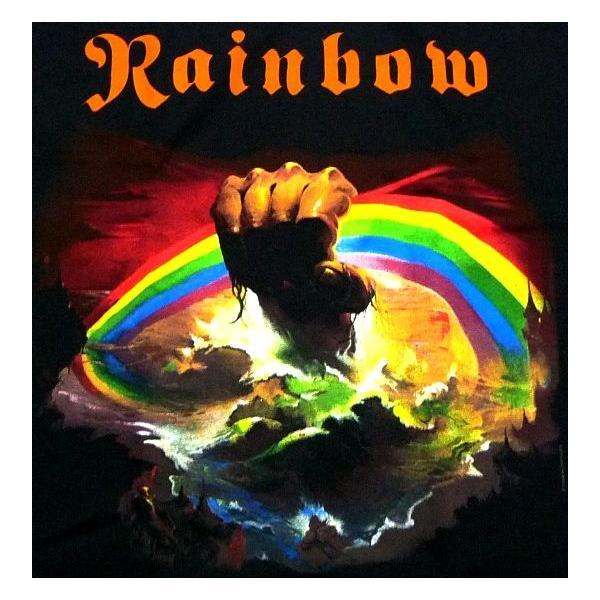 RAINBOW  レインボー  rising  オフィシャル バンドTシャツ / 2枚までメール便対応可|animal-rock|02