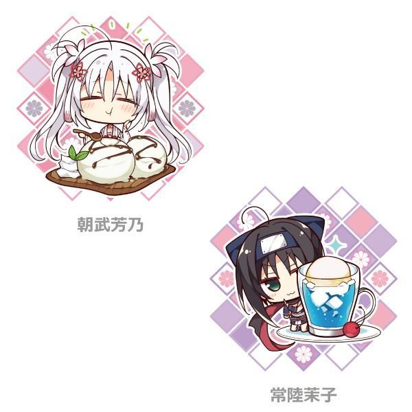 「千恋*万花」キャラクターケーキ第2弾(全4種)|animate-cafe|02