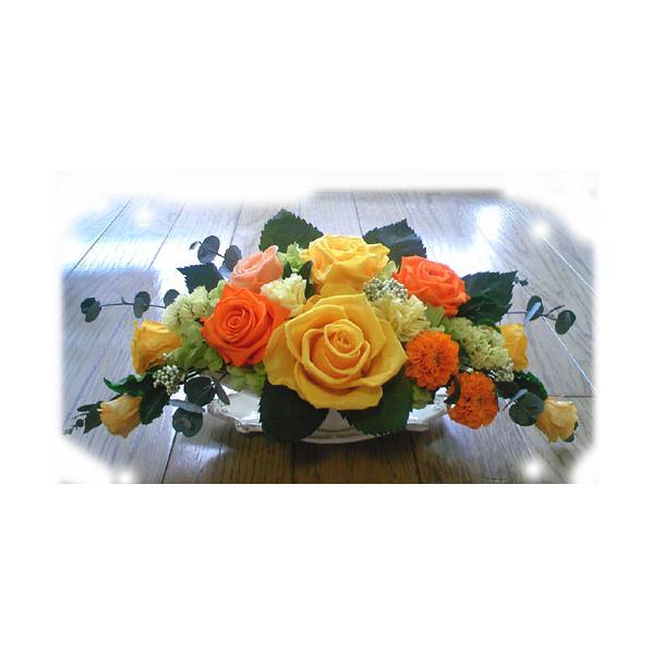 プリザーブドフラワー ギフト アレンジ 彩り 元気のでるビタミン色  華やか お祝い 贈り物 オールプリザーブドフラワー|anju87|02
