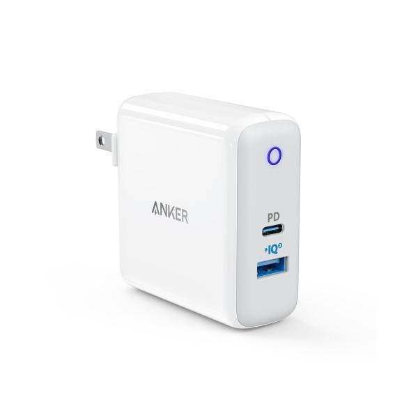 USB充電器 2ポート Anker PowerPort ll PD - 1 PD and 1 PowerIQ2.0 USBCポート搭載 急速充電 PowerIQ 2.0搭載 PowerDelivery対応 iPhone MacBook他対応 ankerdirect