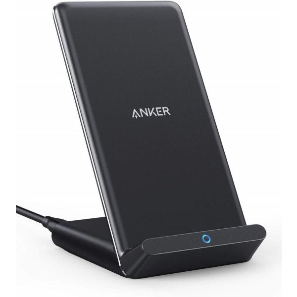 Anker PowerWave 10 Stand 改善版 ワイヤレス充電器 iPhone 11/11 Pro/11 Pro Max/XS/XS Max/XR/X/8/8 Plus Samsung Galaxy LG対応 5W & 7.5W & 10W