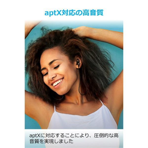 Bluetooth ワイヤレスイヤホン Anker SoundBuds Slim+ (カナル型)【aptX対応 / マイク内蔵 / IPX5防水規格】iPhone、Android各種対応|ankerdirect|03