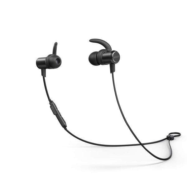 Anker SoundBuds Slim Bluetoothイヤホン Bluetooth 5.0 10時間連続再生 IPX7防水規格 マイク内蔵iPhone Android各種対応