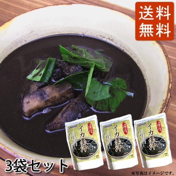 イカスミ汁(イカ墨汁) 500g×3袋セット かつお風味 沖縄料理 4960294700191|anmar-shop