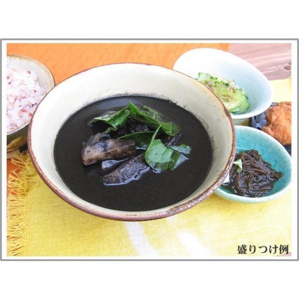 イカスミ汁(イカ墨汁) 500g×3袋セット かつお風味 沖縄料理 4960294700191|anmar-shop|04
