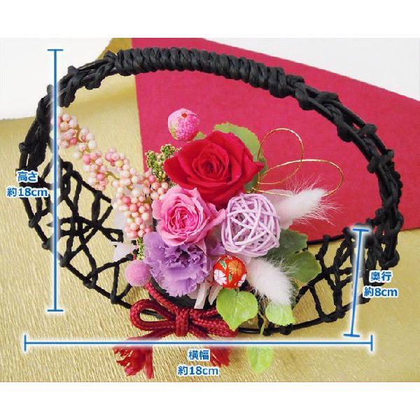 プリザーブドフラワー 和風 花てまり 送料無料 ギフト プレゼント ブリザード 贈り物 卒業 anne 05