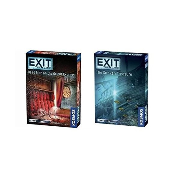 Thames & Kosmos Exit the Game Bundle of 2: Dead Man on the Orient Express a|annex2019