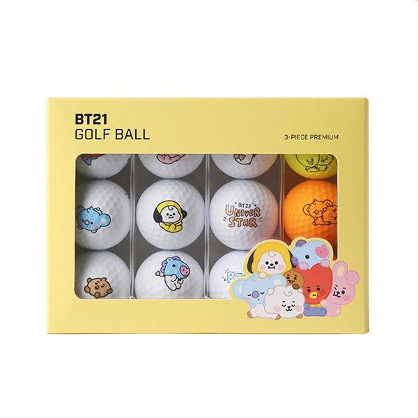 BT21 ゴルフボール 1ダース キャラクターグッズ