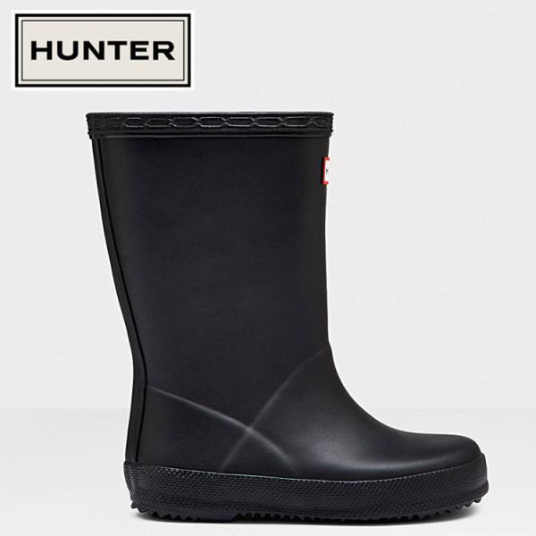 HUNTER ハンター オリジナル ファースト クラシック ブーツ キッズ KFT5003RMA-BLK