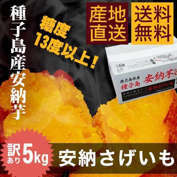 【送料無料・訳あり】種子島産安納芋(安納さげいも)5kg|annouimoreimei
