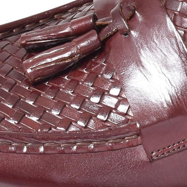 タッセルローファー メンズ ローファー ビジネスシューズ 本革 革靴 靴 anothernumber 13