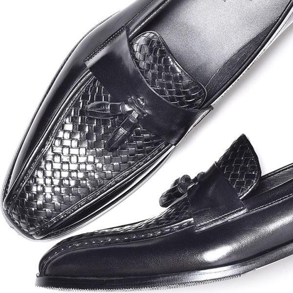 タッセルローファー メンズ ローファー ビジネスシューズ 本革 革靴 靴 anothernumber 03