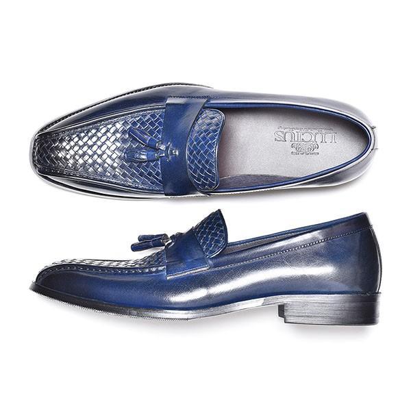 タッセルローファー メンズ ローファー ビジネスシューズ 本革 革靴 靴 anothernumber 09