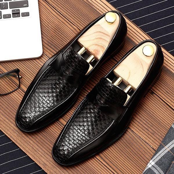 コインローファー メンズ ローファー ビジネスシューズ 靴 本革 革靴|anothernumber