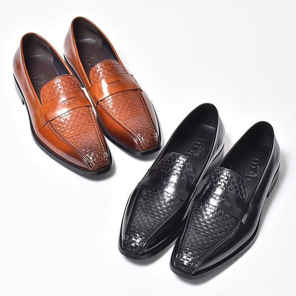 コインローファー メンズ ローファー ビジネスシューズ 靴 本革 革靴|anothernumber|03