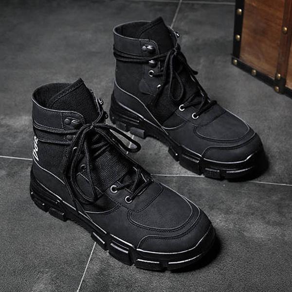 ワークブーツ メンズ 靴 ショートブーツ カジュアルシューズ おしゃれ|anothernumber|05