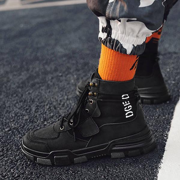 ワークブーツ メンズ 靴 ショートブーツ カジュアルシューズ おしゃれ|anothernumber|06