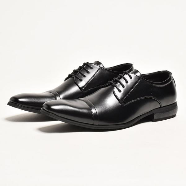 ビジネスシューズ メンズ PU革靴 本革並 靴|anothernumber|05